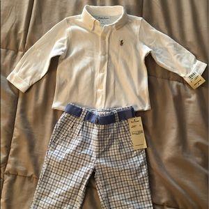 Ralph Lauren Boys outfit